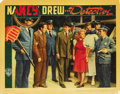 "Movie Posters:Mystery, Nancy Drew -- Detective (Warner Brothers, 1938). Lobby Cards (2)(11"" X 14""). ... (Total: 2 Items)"