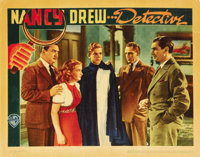 """Nancy Drew -- Detective (Warner Brothers, 1938). Lobby Cards (2) (11"""" X 14""""). ... (Total: 2 Items)"""