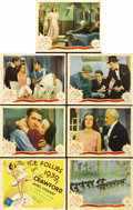 "Movie Posters:Musical, The Ice Follies of 1939 (MGM, 1939). Title Lobby Card and LobbyCards (6) (11"" X 14"").... (Total: 7 Items)"