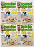 Modern Age (1980-Present):Humor, Richie Rich Vacations Digest #9 File Copies Box Lot (Harvey, 1982)Condition: Average NM-....
