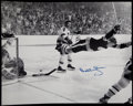 Hockey Collectibles:Photos, Bobby Orr Signed Oversized Photograph....