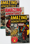 Silver Age (1956-1969):Science Fiction, Amazing Adventures #2 and 4-6 Group (Marvel, 1961) Condition:Average VG.... (Total: 4 Comic Books)