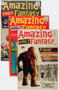 Silver Age (1956-1969):Science Fiction, Amazing Adult Fantasy #7-12 and 14 Group (Marvel, 1961-62).... (Total: 7 Comic Books)