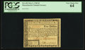 Colonial Notes:Massachusetts, Massachusetts May 5, 1780 $5 PCGS Very Choice New 64.. ...