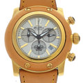 Timepieces:Wristwatch, Like New/Old Stock Glam Rock Chronograph. ...