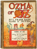 Books:Children's Books, L. Frank Baum. Ozma of Oz. Chicago: The Reilly & LeeCo., [n.d., circa 1920]. Later edition. ...
