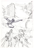 Original Comic Art:Miscellaneous, Gil Kane Amazing Spider-Man #121 Page 14 PreliminaryOriginal Art (Marvel, 1973)....