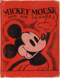 Books:Children's Books, [Disneyana]. Walt Disney and Jean Ayer. Mickey Mouse and HisFriends. New York: Thomas Nelson and Sons, 1937. First ...
