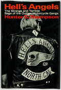 Books:Social Sciences, Hunter S. Thompson. Hell's Angels. A Strange and Terrible Saga. New York: Random House, [1967]. First edition, first...