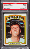Baseball Cards:Singles (1970-Now), 1972 Topps Tommy John #264 PSA Mint 9....