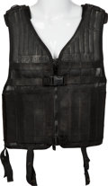 "Movie/TV Memorabilia:Costumes, A Bullet-Proof Vest from ""The Expendables 2.""..."