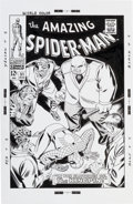Original Comic Art:Covers, Bruce McCorkindale The Amazing Spider-Man #51 CoverRe-Creation Original Art (2012)....