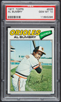 Baseball Cards:Singles (1970-Now), 1977 Topps Al Bumbry #626 PSA Gem Mint 10....