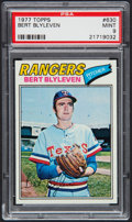 Baseball Cards:Singles (1970-Now), 1977 Topps Bert Blyleven #630 PSA Mint 9....