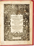 Books:Religion & Theology, [Church of England]. The Booke of Common Prayer, andAdministration of the Sacraments, and Other Rites and Ceremoniesof...