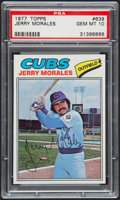 Baseball Cards:Singles (1970-Now), 1977 Topps Jerry Morales #639 PSA Gem Mint 10 - Pop Four. ...
