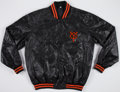 Baseball Collectibles:Uniforms, Circa 1980s Tokyo Giants Player Issued Jacket....