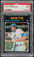 Baseball Cards:Singles (1970-Now), 1971 Topps Donn Clendenon #115 PSA Mint 9....