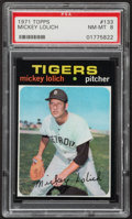 Baseball Cards:Singles (1970-Now), 1971 Topps Mickey Lolich #133 PSA NM-MT 8....
