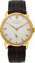 Timepieces:Wristwatch, Patek Philippe Ref. 1578 Rare Large Amagnetic Gold Wristwatch,circa 1960's. ...