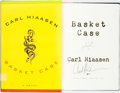 Books:Mystery & Detective Fiction, Carl Hiaasen. SIGNED. Basket Case. New York: Alfred A.Knopf, 2002....