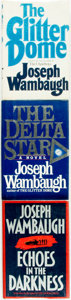 Books:Mystery & Detective Fiction, Joseph Wambaugh. Trio of SIGNED/INSCRIBED First Editions. WilliamMorrow and Company, [various dates].... (Total: 3 Items)