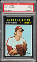 Baseball Cards:Singles (1970-Now), 1971 Topps Billy Wilson #192 PSA Mint 9....