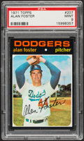 Baseball Cards:Singles (1970-Now), 1971 Topps Alan Foster #207 PSA Mint 9....