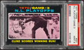 Baseball Cards:Singles (1970-Now), 1971 Topps N.L. Playoff Game 3 #201 PSA Mint 9....