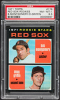 Baseball Cards:Singles (1970-Now), 1971 Topps Red Sox Rookies #176 PSA NM-MT+ 8.5....