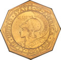 Commemorative Gold, 1915-S $50 Panama-Pacific 50 Dollar Octagonal MS64+ PCGS....