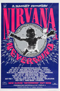"Music Memorabilia:Posters, Nirvana ""Nevermind"" Australian Tour Poster (Magnet Promotions,1992)...."
