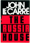 Books:Mystery & Detective Fiction, John le Carré. The Russia House. New York: Alfred A. Knopf,1989....