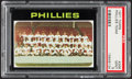 Baseball Cards:Singles (1970-Now), 1971 Topps Phillies Team #268 PSA Mint 9....