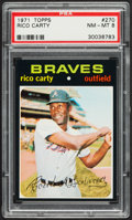 Baseball Cards:Singles (1970-Now), 1971 Topps Rico Carty #270 PSA NM-MT 8....