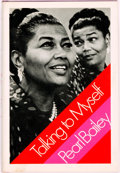 Books:Biography & Memoir, Pearl Bailey. INSCRIBED. Talking to Myself. New York:Harcourt Brace Jovanovich, [1971]....