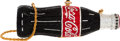 Luxury Accessories:Bags, Kathrine Baumann Limited Edition Full Bead Red, Black & SilverCrystal Coca-Cola Bottle Minaudiere Evening Bag, 177/2500....
