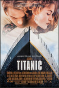 "Movie Posters:Drama, Titanic (20th Century Fox, 1997). One Sheets (2) (26.75"" X 39.75"")Two Styles DS. Drama.. ..."