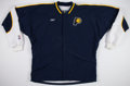 Basketball Collectibles:Uniforms, Indiana Pacers Game Worn Warm Up Jacket and Pants....