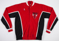 Basketball Collectibles:Uniforms, 1989 Chicago Bulls Game Worn Warm Up Jacket and Pants....