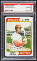 Baseball Cards:Singles (1970-Now), 1974 Topps Jorge Orta #376 PSA Gem Mint 10....