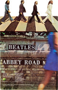 Music Memorabilia:Memorabilia, A Beatles Abbey Road Standup Display, 1969....