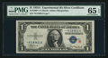 Small Size:Silver Certificates, Fr. 1609* $1 1935A R Silver Certificate. PMG Gem Uncirculated 65 EPQ.. ...