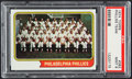 Baseball Cards:Singles (1970-Now), 1974 Topps Phillies Team #383 PSA Mint 9....