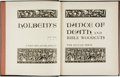 Books:Art & Architecture, Holbein. LIMITED. Holbein's Dance of Death and Bible Woodcuts. New York: The Sylvan Press, 1947....