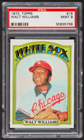 Baseball Cards:Singles (1970-Now), 1972 Topps Walt Williams #15 PSA Mint 9....