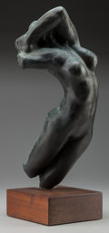 Fine Art - Sculpture, European:Antique (Pre 1900), After Auguste Rodin (French, 1840-1917). Torse d'Adèle.Bronze . 16-1/2 x 2-1/2 inches (41.9 x 6.4 cm). Inscribed on bas...
