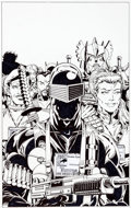 Original Comic Art:Covers, Herb Trimpe G.I. Joe, a Real American Hero #180 CoverOriginal Art (IDW Publishing, 2012)....