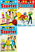 Original Comic Art:Miscellaneous, Swing With Scooter #17-19 Color Cover Proofs Group of 3 (DC, 1969).... (Total: 3 Items)