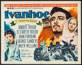 "Movie Posters:Adventure, Ivanhoe & Others Lot (MGM, R-1962). Half Sheets (3) (22"" X28""). Adventure.. R-. ... (Total: 3 Items)"